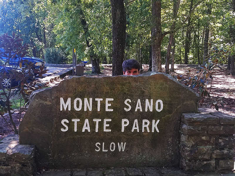 Old Entrance to Monte Sano State Park