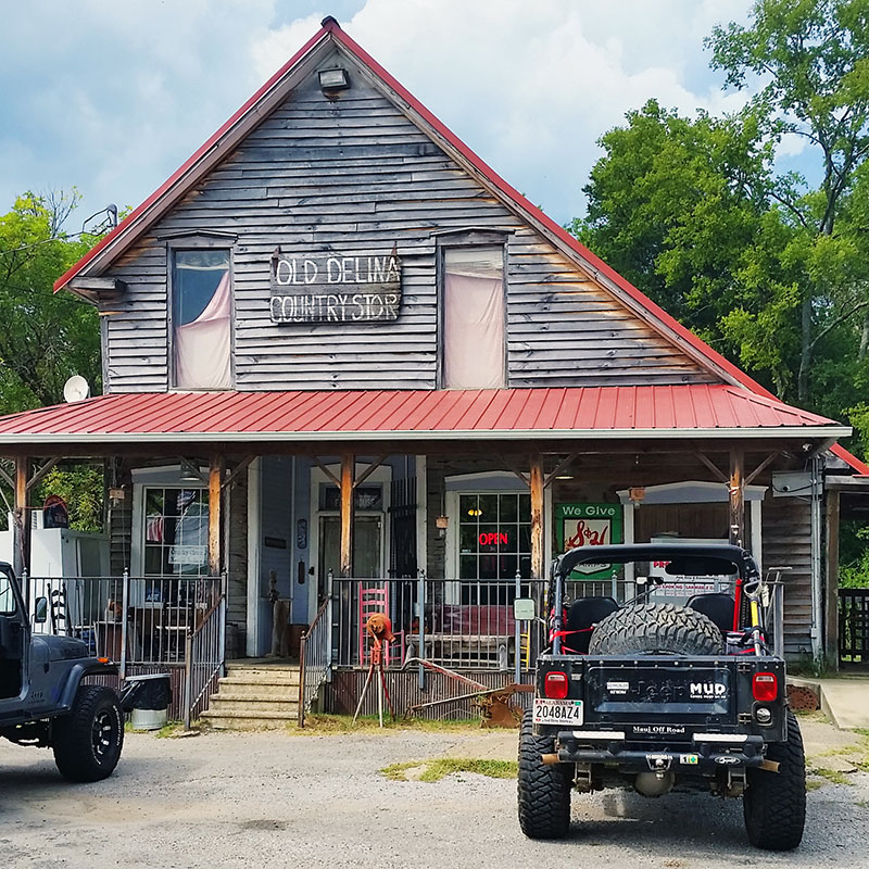 Old Delina Country Store Tennessee